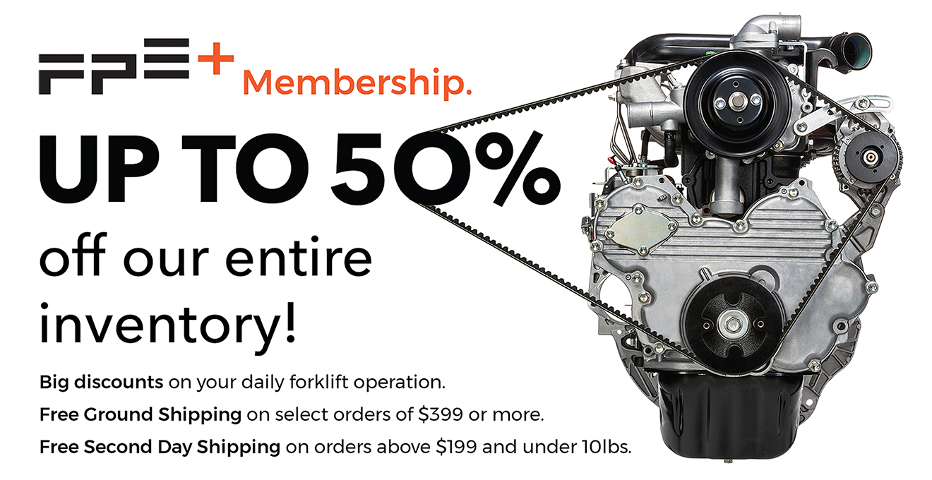 FPE+ Membership. UP TO 5O% off our entire inventory!